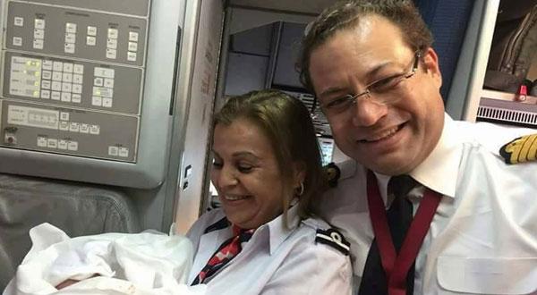 مولود جديد على متن طائرة الخطوط الجوية التونسية