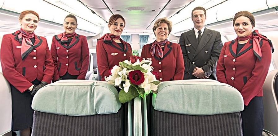 Tunisair félicite l'équipage du vol TU 723