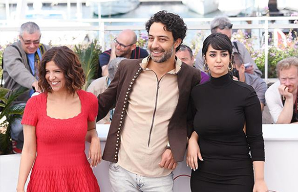 Photos et vidéo...Festival de Cannes : Les stars tunisiennes au photocall du film ''La belle et la meute''