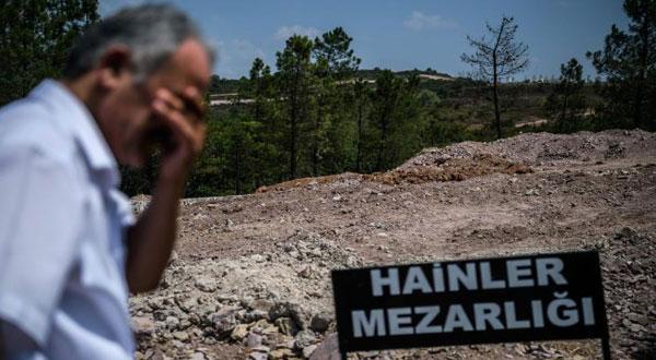 « مقبرة الخونة »لدفن الجنود الانقلابيين خارج إسطنبول