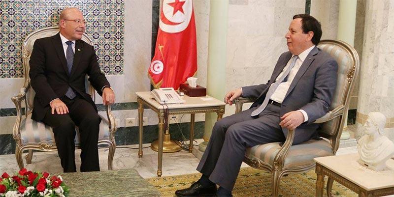 وزير الخارجية يلتقي سفير تركيا بتونس بمناسبة انتهاء مهامه