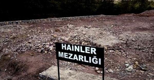 مقبرة الخونة'': هنا دُفن أحد المشاركين في الانقلاب الفاشل بتركيا ''