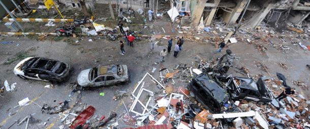 Attentat en Turquie: 26 arrestations, les rebelles kurdes désignés