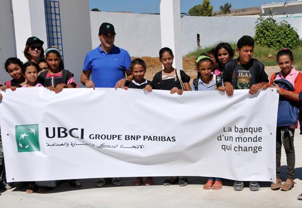 L'UBCI s'engage pour la réussite scolaire des enfants dans plusieurs régions