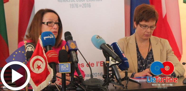 En vidéo : La délégation européenne annonce les journées de l'Europe du 24 au 26 mai à Tunis