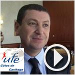 En vidéo - Khaled Zribi anime le petit déjeuner de l'UFE côtes de Carthage