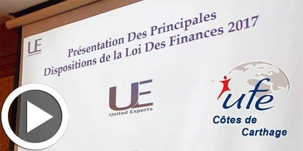 En vidéos - Petit déjeuner de l'UFE CC autour de la loi de finances : qu'est ce qui change en 2017 ?