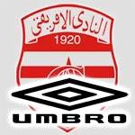 UMBRO signe un contrat de 4 ans avec le Club Africain
