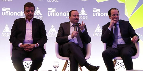 En vidéos : Bassem Loukil et Mohamed Fathy ensemble pour une usine Unionaire à Sousse