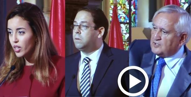 En vidéos : Ouverture de l'Université d'Automne des Femmes Tunisiennes et Françaises en présence de Youssef Chahed et de Jean-Pierre Raffarin