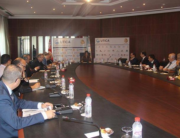La taxe de 7,5% et son impact sur la compétitivité des entreprises au cœur d'une rencontre au siège de l'UTICA