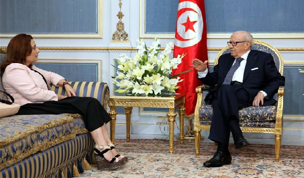 Pourquoi Wided Bouchamaoui chez Béji Caïd Essebsi à Carthage ?