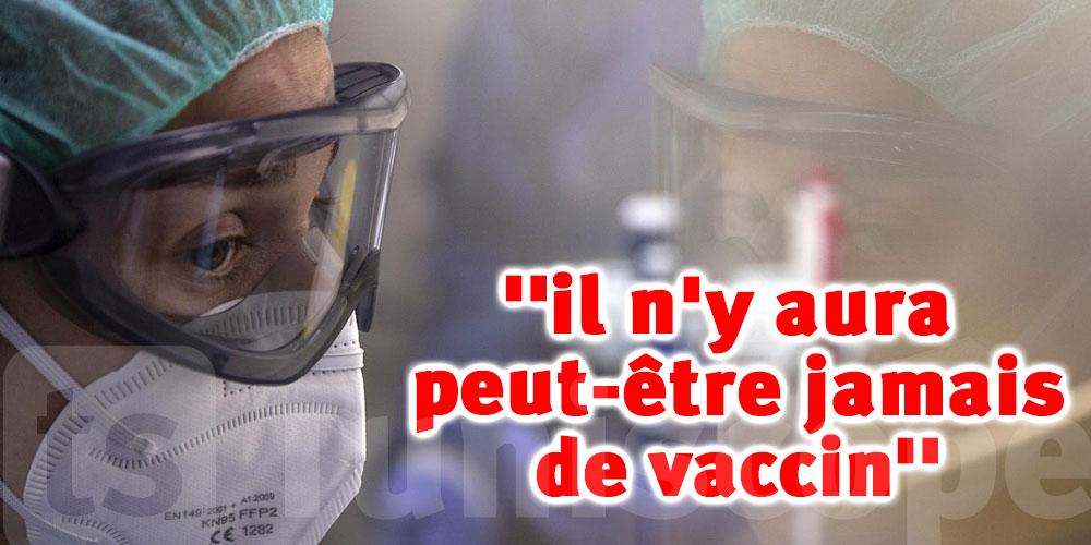 Pour l'OMS, il n'y aura peut-être jamais de vaccin