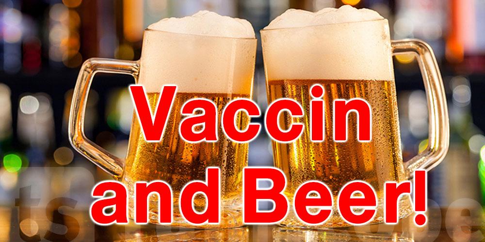 Une bière pour se faire vacciner contre le Coronavirus