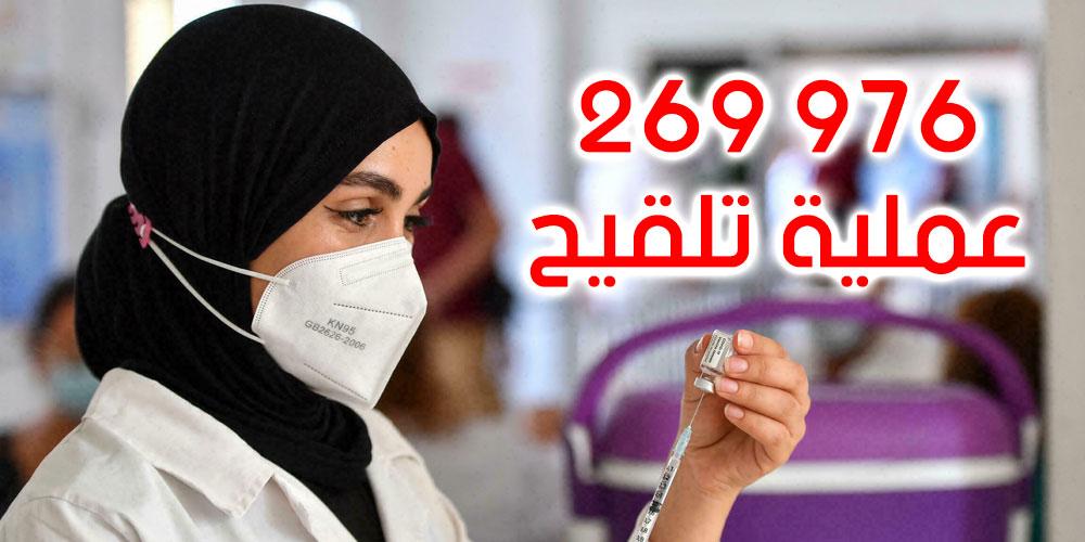تطعيم حوالي 270 ألف شخص إلى حدود الساعة الواحدة بعد الظهر