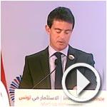 En vidéo : Manuel Valls rend hommage aux martyrs Chokri Belaid et Mohamed Brahmi