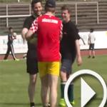 فيديو: مباراة كرة قدم بين أئمة مساجد وقساوسة والحكم يهودي