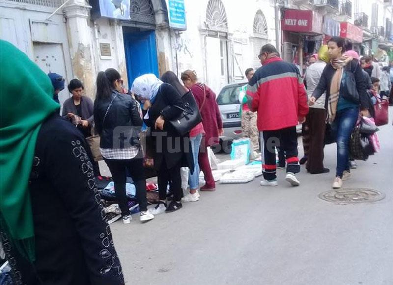 بالصّور : شوارع العاصمة ''تزدان'' من جديد بالباعة المتجوّلين