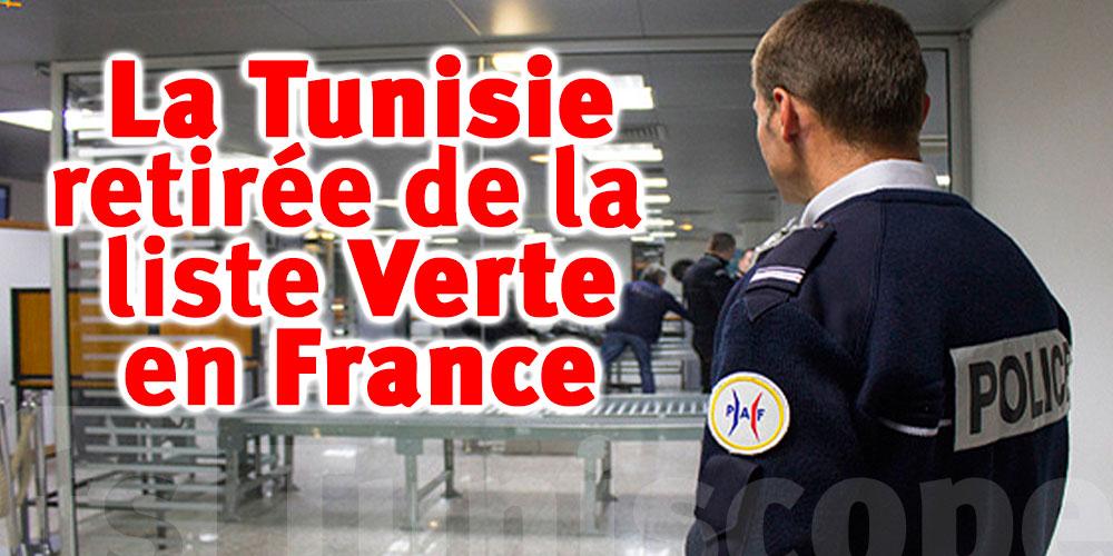 Officiel : La France retirera la Tunisie de la Liste Verte