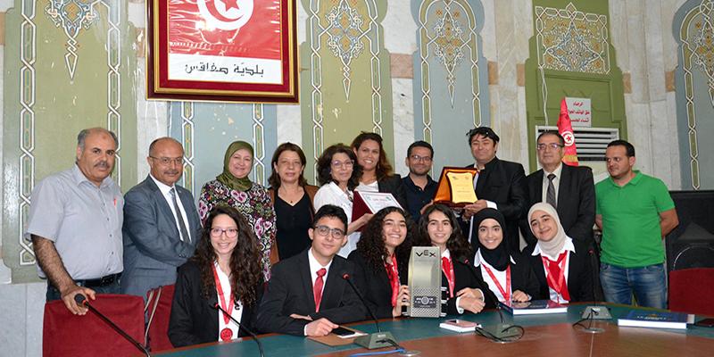 De jeunes Tunisiens primés dans une compétition de Robotic aux Etats Unis