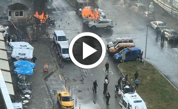 Turquie : Première vidéo de l'explosion d'Izmir