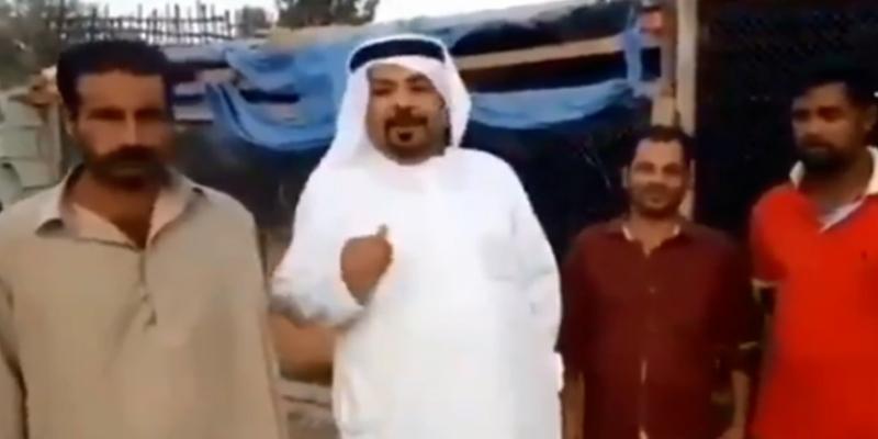بعد أن حبس هنودا في أقفاص حيوانات: مشجع إماراتي  يبرر تصرفاته