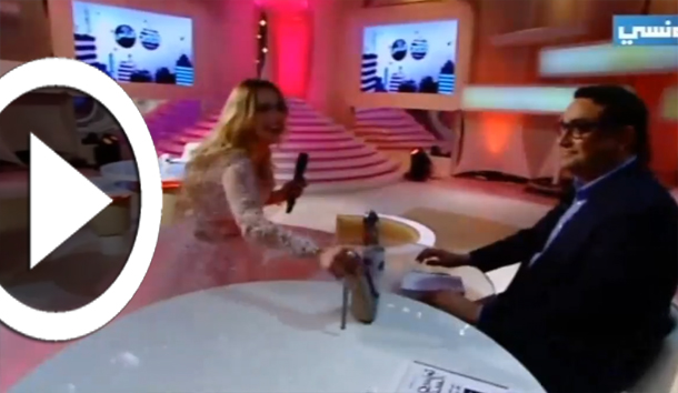 بالفيديو: نيرمين صفر تنزع حذاءها وتضعه على الطاولة أمام شكيب وتثير غضب لطفي لعماري