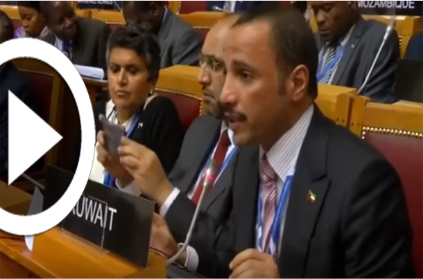 بالفيديو: رئيس مجلس النواب الكويتي يطرد الوفد الإسرائيلي المشارك في اجتماع دولي في روسيا