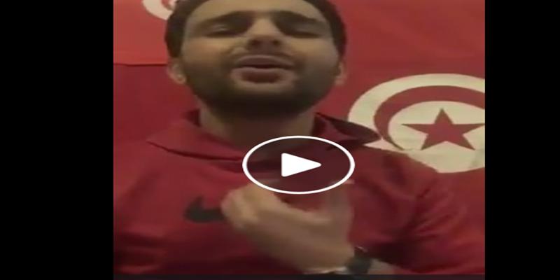 بالفيديو: نور شيبة يغني: تونس عزيزة و ولادها حرقوها