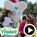 En vidéo – le Parc Vitupti by Vitalait accueille les enfants à la Marsa