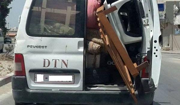 Un voleur de voiture administrative dans les filets de la police à Bizerte