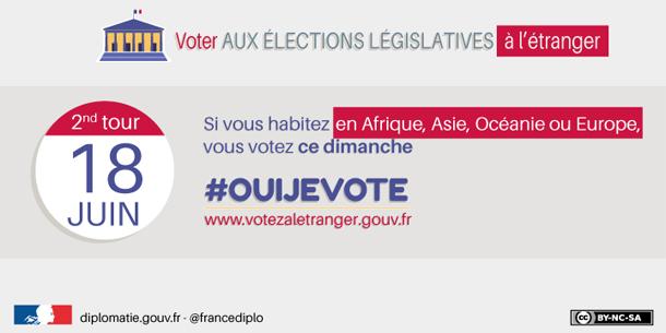 Second tour des élections législatives : Les Français en Tunisie votent ce dimanche