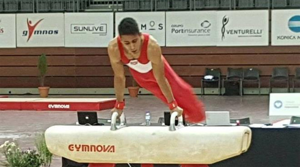 Gymnastique...Tournoi international de Guimaraes : Le tunisien Wissem Herzi remporte la médaille d'or