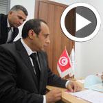En Vidéo : Yassine Chennoufi dépose sa candidature à l'ISIE