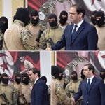 En photos : Youssef Chahed inspecte l'unité d'élite de la Garde Nationale, à Bir Bouregba
