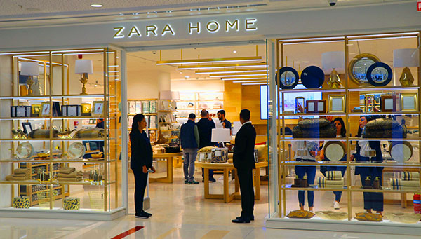 En photos : Découvrez Zara Home au Centre Commercial Tunisia Mall