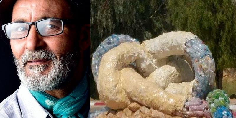 Zid Assal, sculpteur de Ghomrassen : Je voulais choquer et c'est réussi