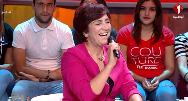 بالفيديو: سامية عبو تغني ''انت عمري''