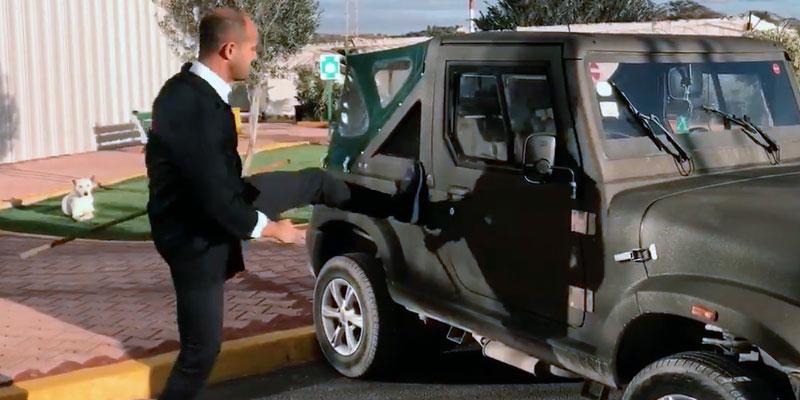 En vidéo : Il y'a qu'une seule méthode pour tester la solidité de la Wallys Car