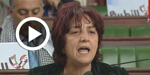 سامية عبّو : ''إفتقدناك يا سيادة الرّئيس في ... المعارضة''
