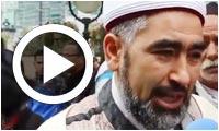 Déclaration de Adel Almi avant son expulsion de la manifestation