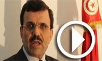 بالفيديو : علي العريض يتوجه بكلمة بمناسبة عيد المراة