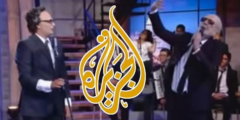 بالفيديو: قناة الجزيرة توجّه تحية  للباجي قائد السبسي وترفع القبّعة احتراما له