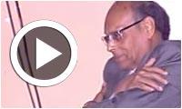 Vidéo du jour : Moncef Marzouki exprime ses sentiments