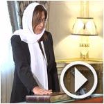بالفيديو...تسليم أوراق إعتماد لعدد من السفراء