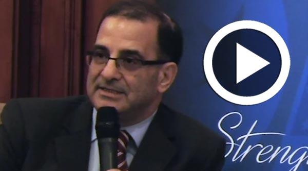 Petit-déjeuner débat organisé par AmCham : Intervention de Kamel Jedidi, professeur à l'Université de Columbia