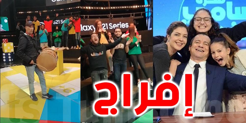 بالفيديو..أجواء إحتفالية في أستوديوهات الحوار التونسي