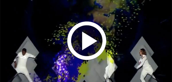 بالفيديو : عرض تونسي رائع يبهر لجنة تحكيم ''أراب ڤوت تالنت ''