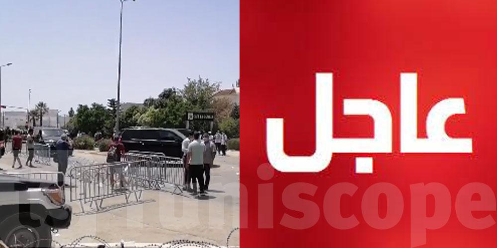 ''بالفيديو..البحيري وأنصار النهضة يرفعون شعارات ضد ''الإنقلاب