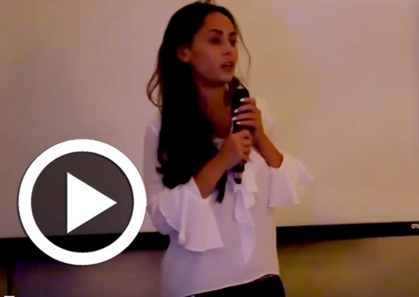 Soirée Annuelle du Groupe ATUGE au Féminin : Allocution de Mme Azza Driss, fondatrice de Pub-lik